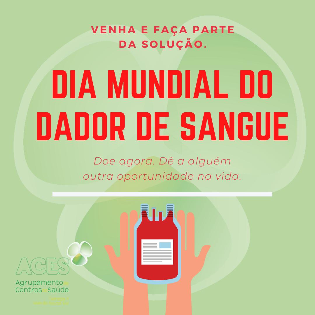 Dia Mundial do Dador de Sangue. (4)
